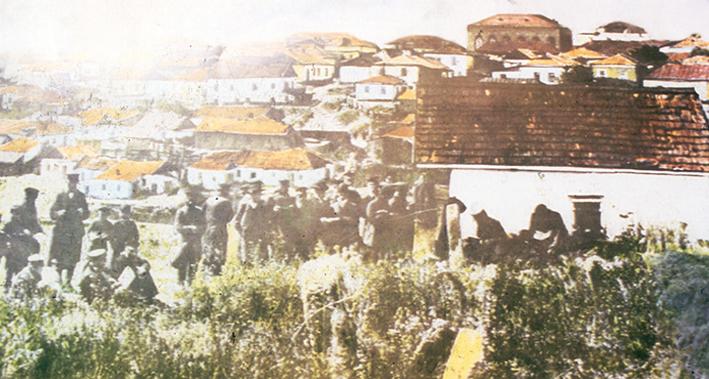 La tumba del Rebe Najman de Breslov en Uman en el año 1922, el año de su nacimiento