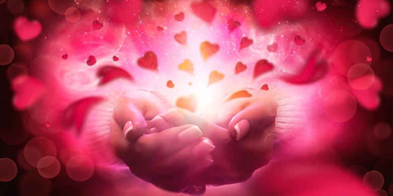 לב מלא באור ושמחה בקלות עם מצוות הצדקה