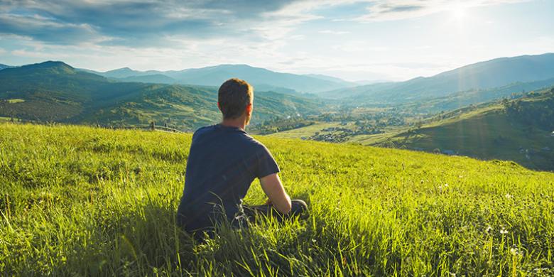 פרנסה מחפשים בשדה איש יושב בשדה